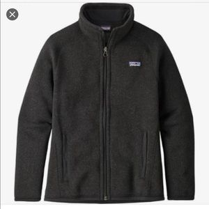 Black Girls Patagonia jacket